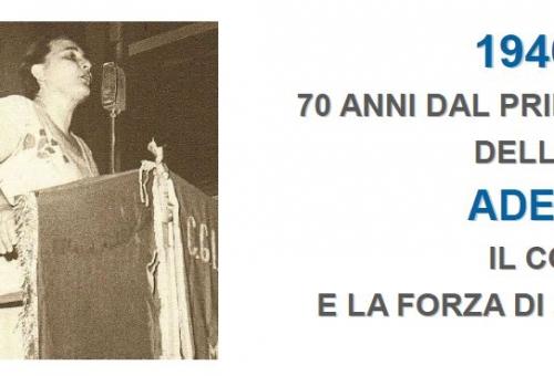 Ritaglio 70 anni dal primo voto delle donne