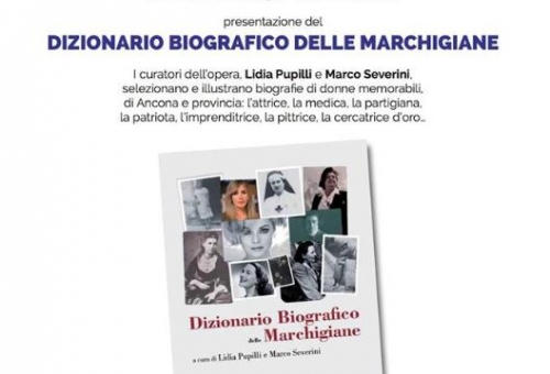 Dizionario Biografico delle Marchigiane - 25 Maggio ore 17